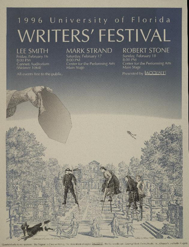 University of Florida Writers' Festival 1996 - Photograph #1