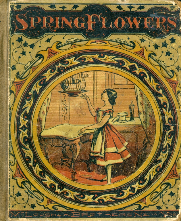 Spring flowers - Front Cover 1