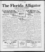 The Florida alligator