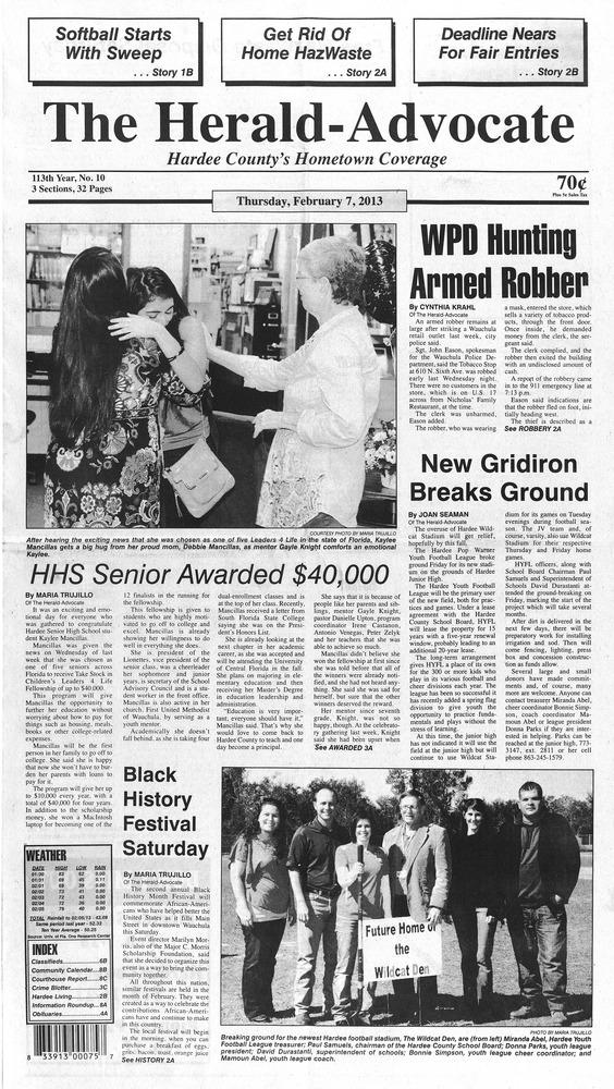 The Herald Advocate