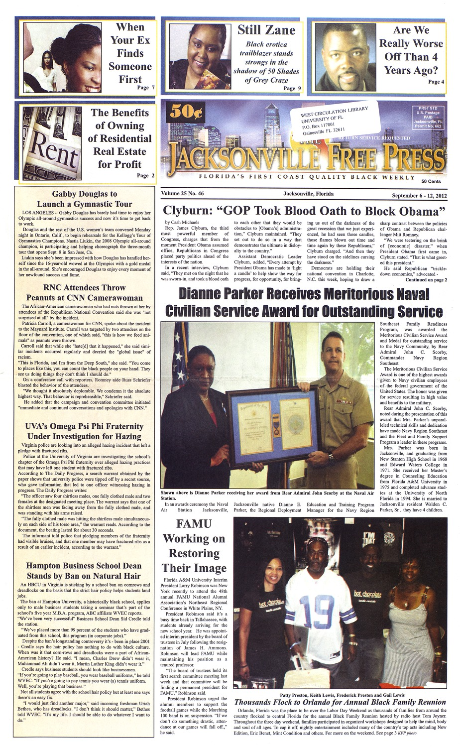 The Jacksonville free press ( March 1, 2012 )