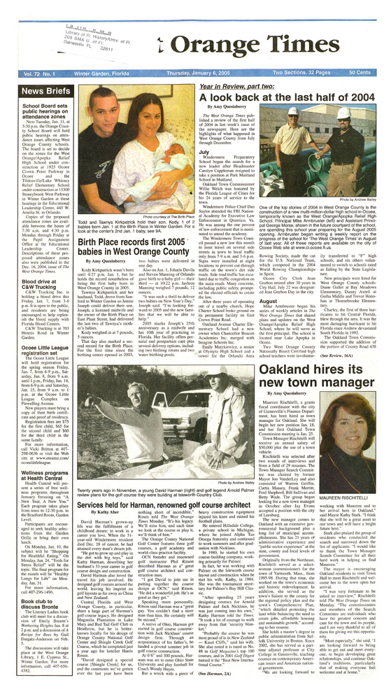 The West Orange times - page A 1
