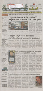 The DeFuniak herald combined with the breeze