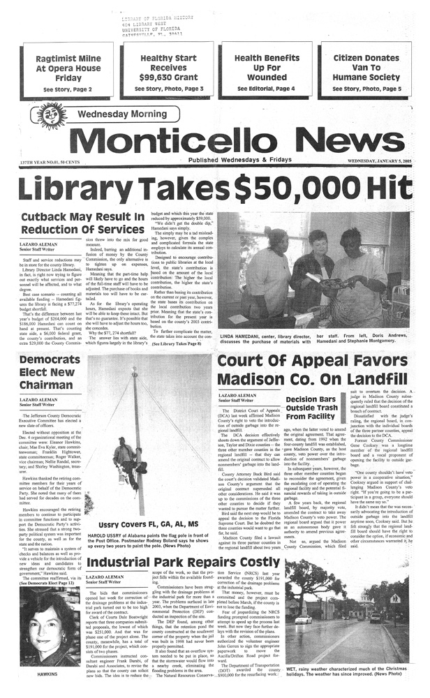 The Monticello news - page 1
