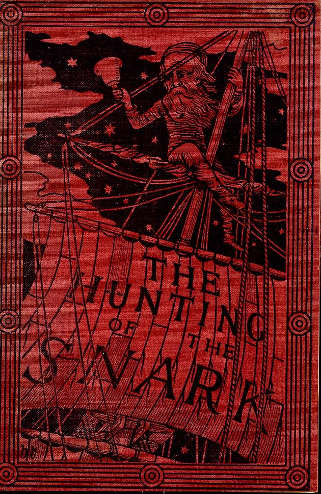 The hunting of the snark  - Front cover 1