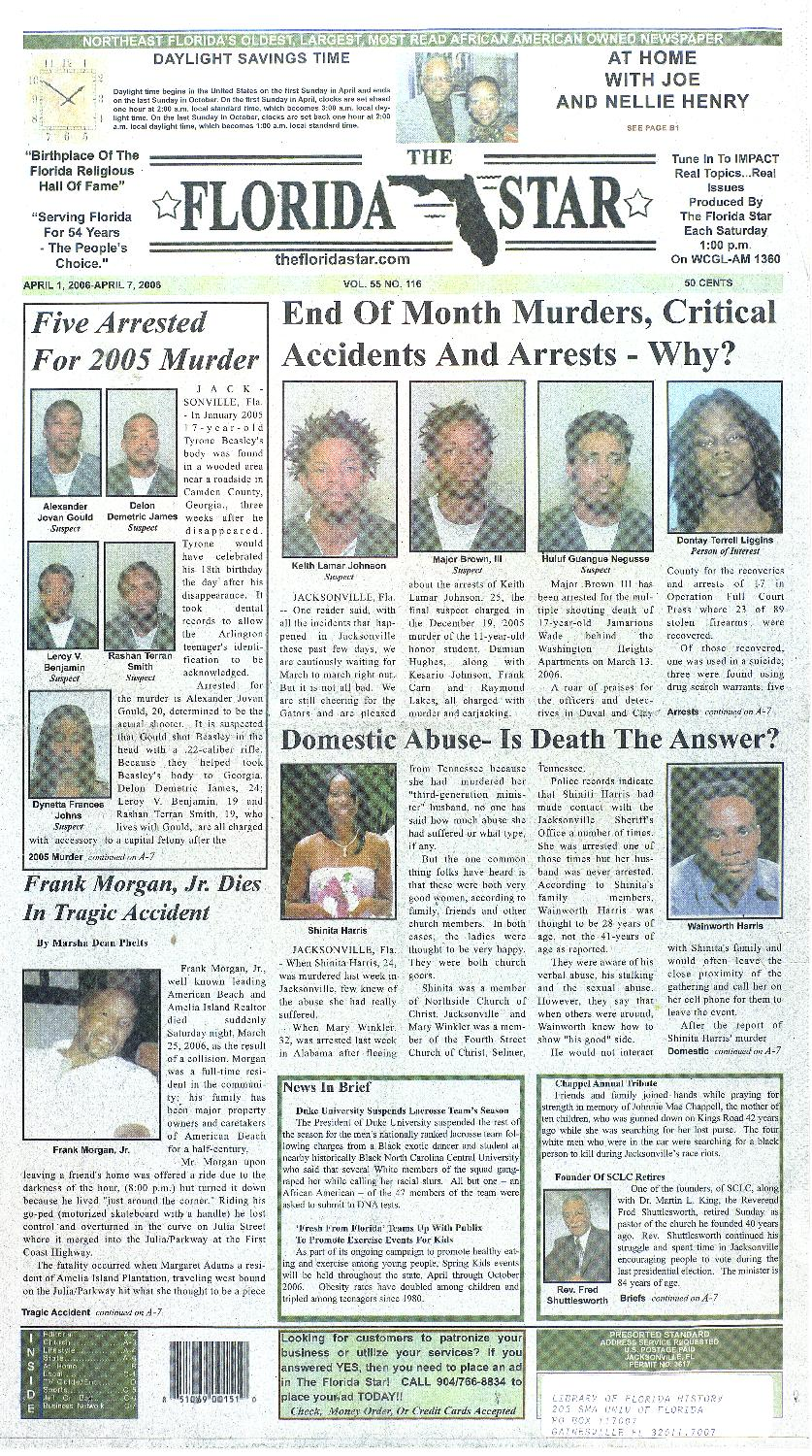 Florida Star  April 1, 2006