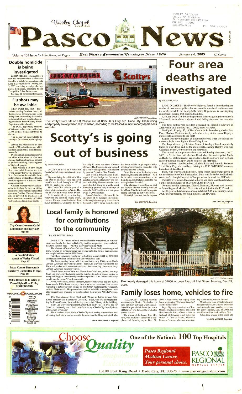 Pasco news - Page A 1