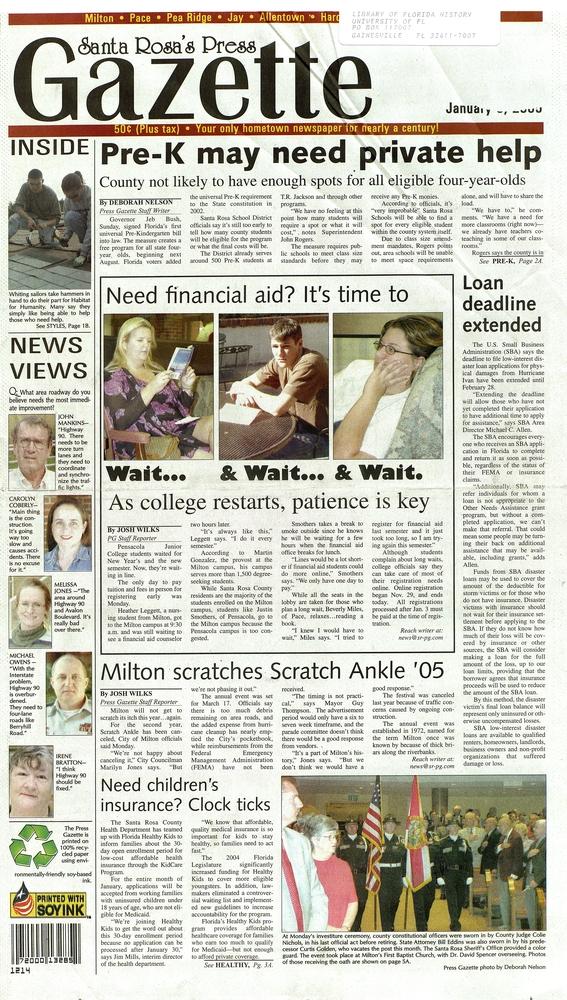 The Santa Rosa press gazette - A 1