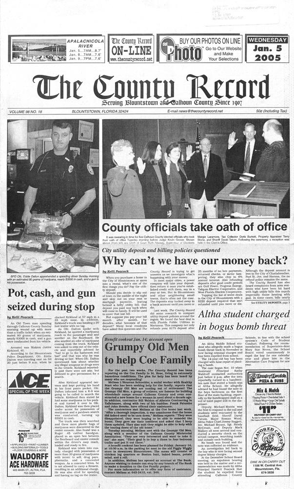 The County record - Page 1