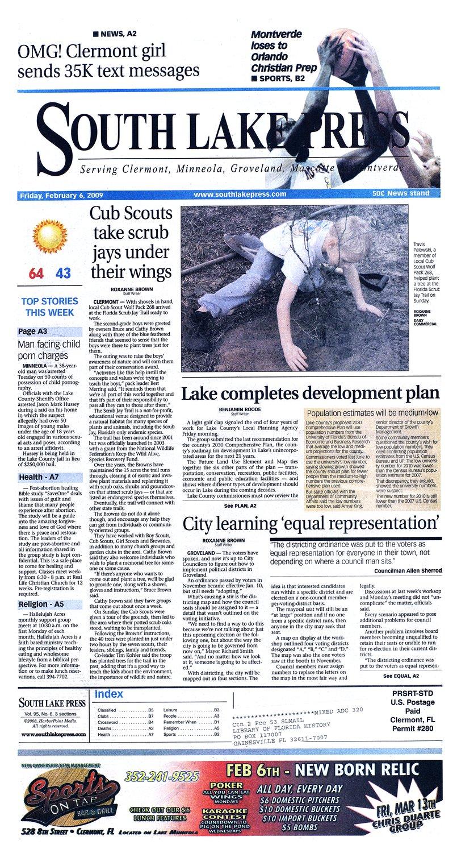 South Lake press - Page A 1
