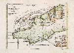 Plan of the Colorado Rocks, near the west end of Cuba