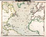 Chart of North Atlantic Ocean