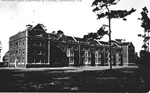 Early view of Buckman Hall on the campus of the University of Florida