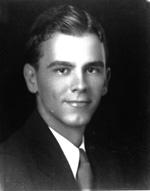 Photo portrait of Charles E. Bennett, University of Florida student body president
