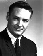 Photo portrait Bill Trickle, University of Florida student body president
