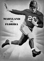 Cover of a 1935 University of Florida football program.
