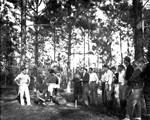 School of Forestry students at Forestry Field Day
