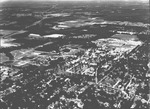 Aerial photograph of the University of Florida campus and the City of Gainesville