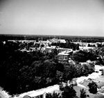 University of Florida campus Aerial View