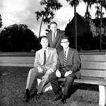 University of Florida Senior class officers Ned Davis, John Price, and Joe Ripley