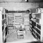 Alternate storage for books in Century Tower on the University of Florida campus