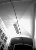 Anderson Hall, on the campus of the University of Florida, interior ceiling detail