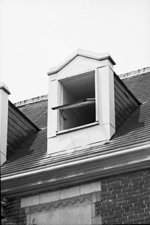 Floyd Hall dormer window