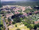 Aerial view of the University of Florida campus