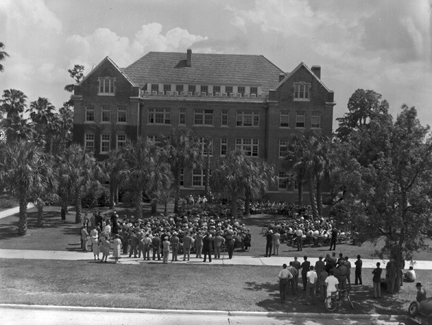 Newell Hall dedication on the University of Florida campus ... - photo#44