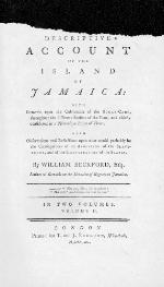 A descriptive account of the island of Jamaica
