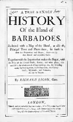 A true & exact history of the island of Barbadoes