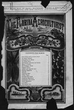 The Florida agriculturist