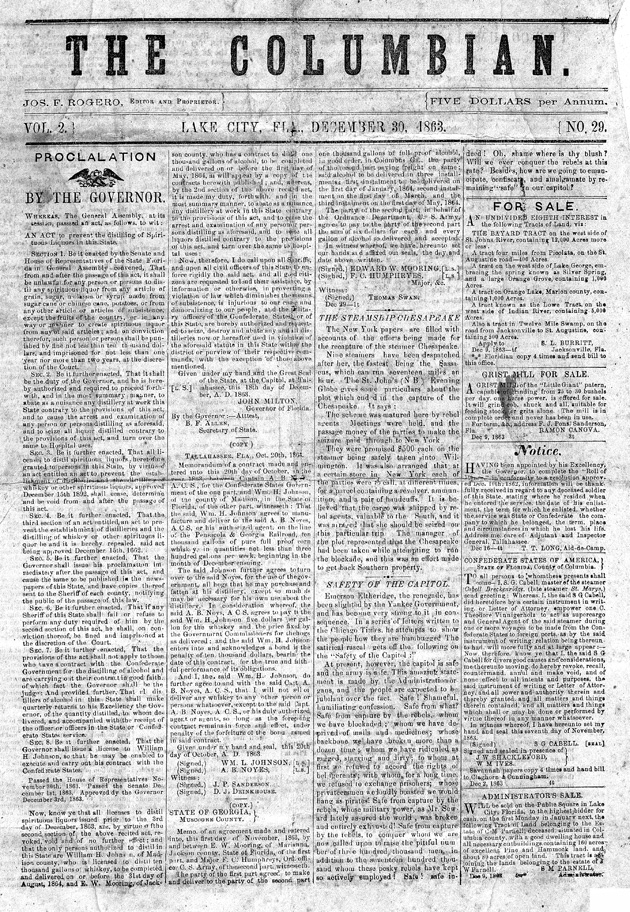 The Columbian - Page 1