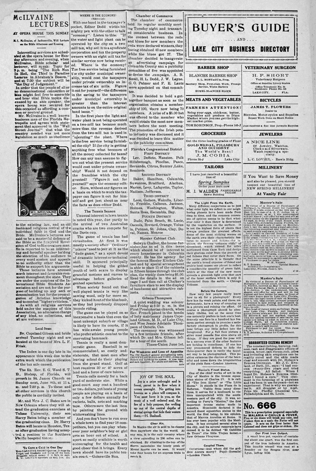 The Florida index - Page 1