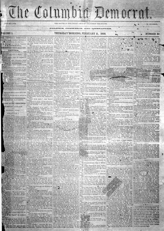 The Columbia Democrat - Page 1