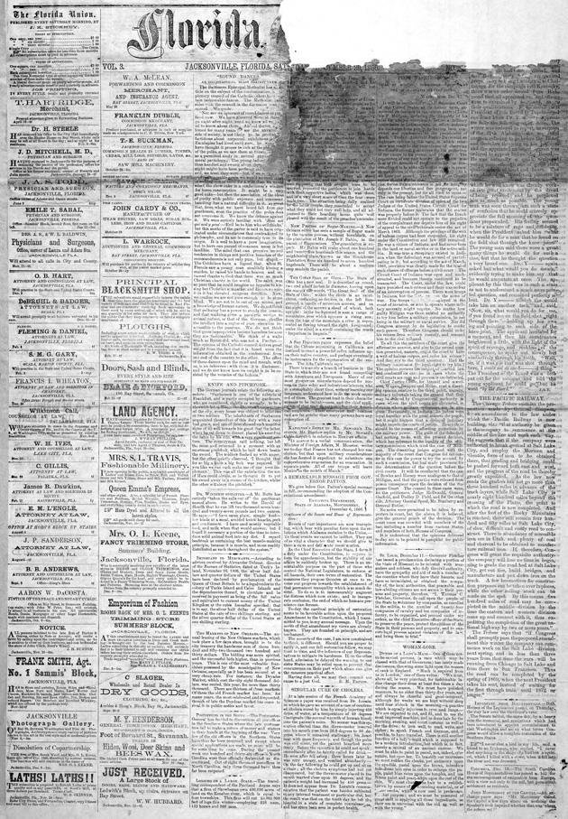 Florida union - Page 1