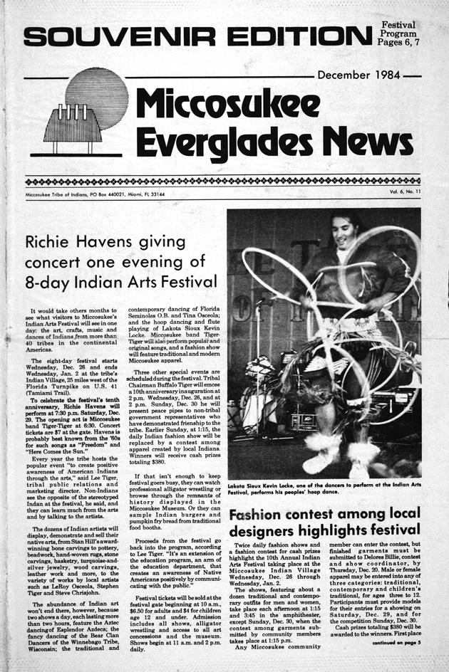 Miccosukee Everglades news - Page 1