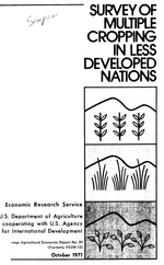 Survey of multiple cropping in less developed nations