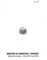 Informe anual de labores
