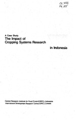 The impact of cropping systems research in Indonesia