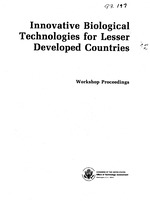Innovative biological technologies for lesser developed countries