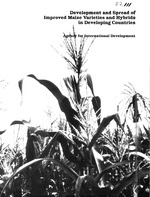 Development and spread of improved maize varieties and hybrids in developing countries