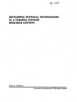 Developing notional technologies in a farming systems research context