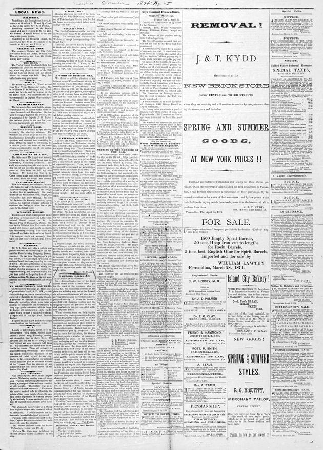 The Fernandina observer - Page 1