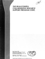 Report of the External Evaluation Panel, Bean/Cowpea CRSP five-year review, January 19-24, 1986