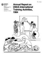 Annual report on USDA international training activities