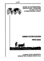 Farming systems research & extension