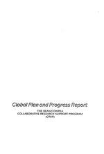 Global plan and progress report
