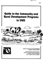 Guide to the community and rural development programs in IFAS