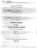 Farming systems in the lower Shebelle region